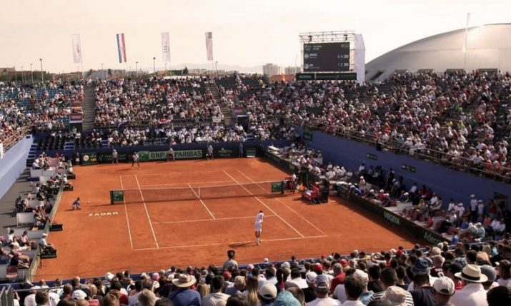 Novak Djokovic organising tennis tournament in Zadar