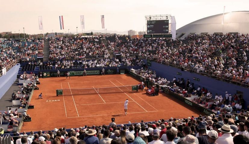 Novak Djokovic organising tennis tournament in Zadar