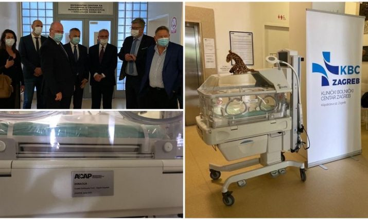 Association of Croatian American Professionals Foundation provides next round of relief for hospitals in Croatia