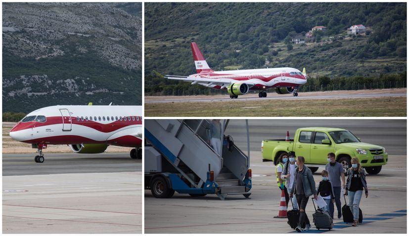 PHOTOS: First post-corona international flight lands in Dubrovnik