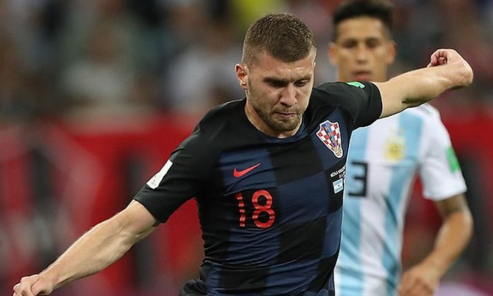 Ante Rebić out of Croatia's matches against France and Sweden after dislocating elbow