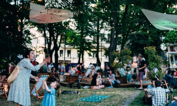 Art Park celebrating 5th birthday at Zagreb's Ribnjak this weekend
