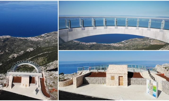 PHOTOS: Opening of the new Skywalk viewpoint on Biokovo mountain