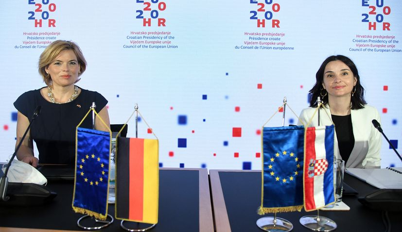 Croatian & German agriculture ministers discuss sector challenges