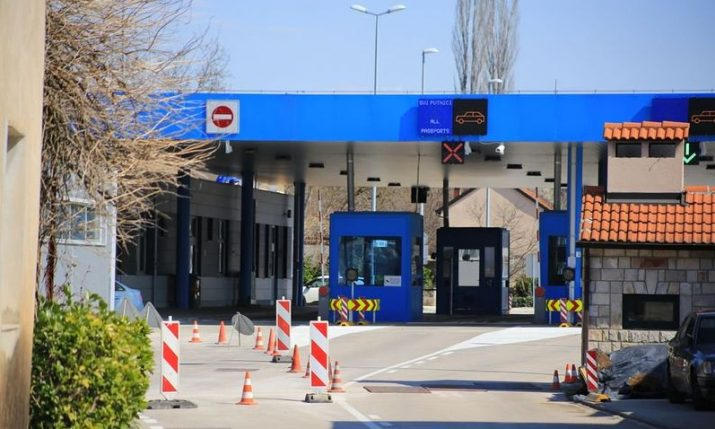 Restrictions imposed on entering Croatia