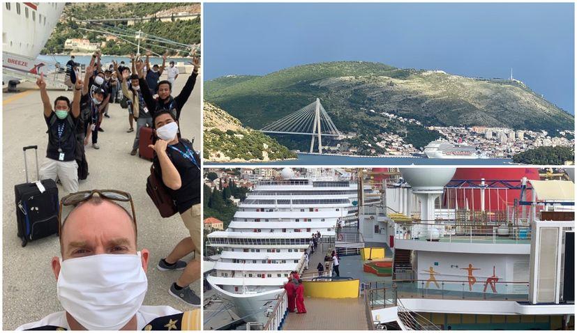 "Carnival Cruise Line says ""Hvala"" to Dubrovnik"