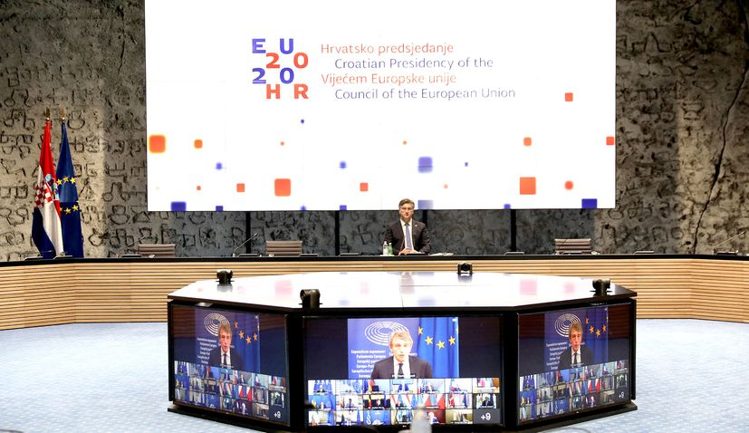 PM says EU recovery plan funds for Croatia not in question