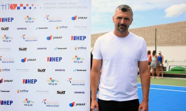 Goran Ivanisevic tests positive for coronavirus