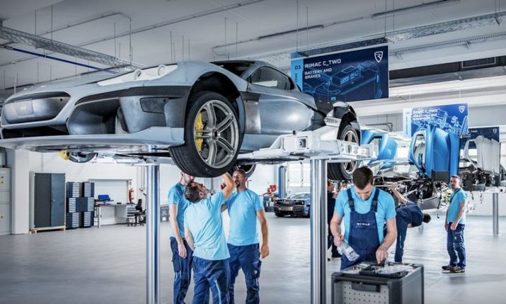 VIDEO: Rimac reveals all-new production line as C_Two prototype production accelerates