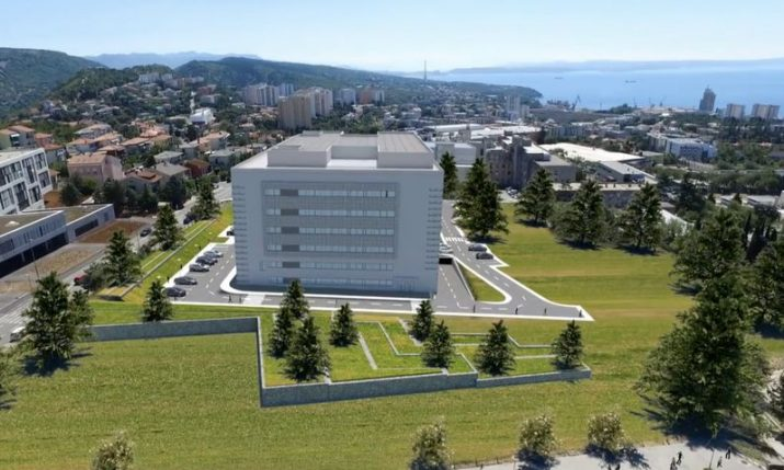 New hospital complex worth €130 million being built in Rijeka