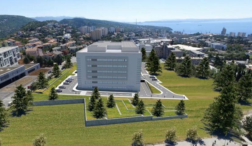 New hospital complex worth €130 million being built in Rijeka