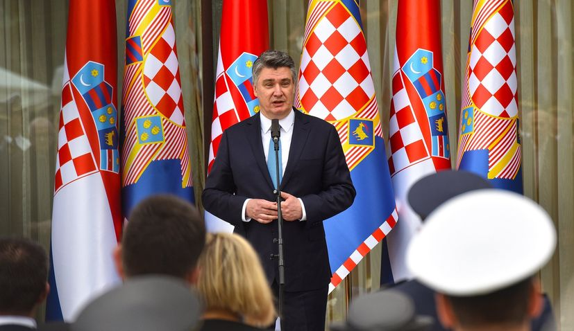 Croatian president to begin two-week foreign tour on Monday