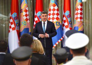 President Milanovic (Photo credit: Ured PRH)