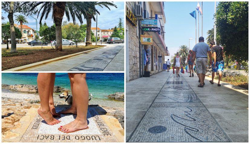 World's longest mosaic promenade project continues in Vela Luka on Korcula