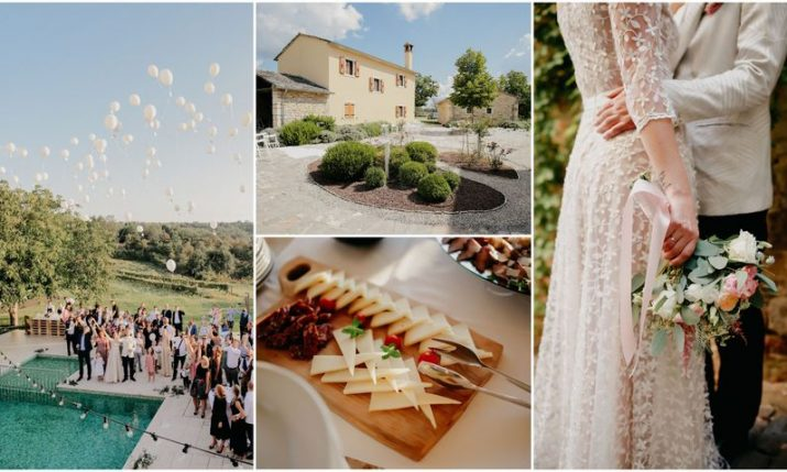 The planning behind a stunning destination wedding in Croatia