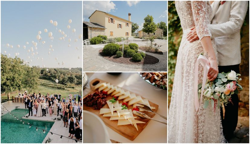The planning behind a stunning destination wedding in Croatia