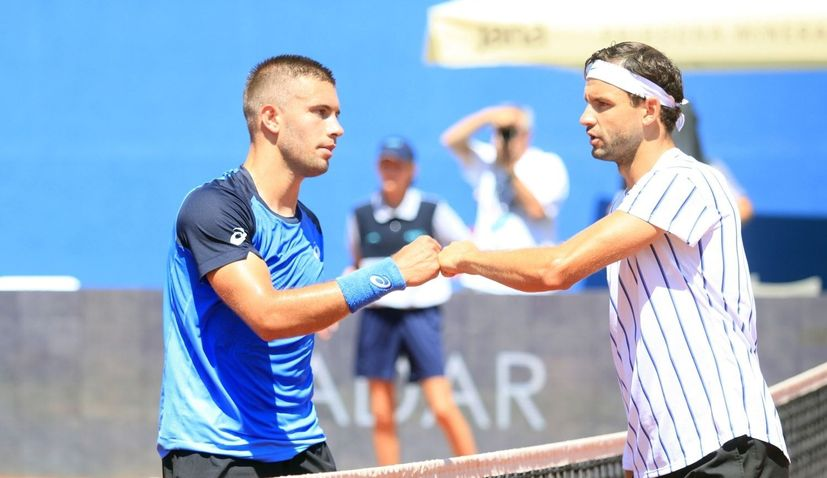 More tennis players in Zadar positive for coronavirus, including Borna Coric