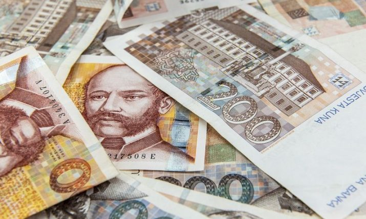 Average monthly net wage in Croatia HRK 6,863