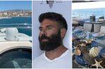 Instagram celeb Dan Bilzerian enjoying luxury Croatian holiday