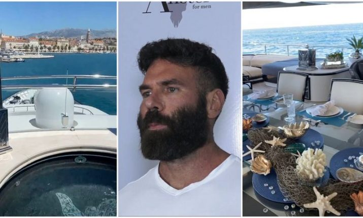 Instagram celeb Dan Bilzerian enjoying luxury Croatian holiday