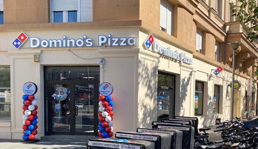 PHOTOS: First Domino's Pizza store in Croatia opens its doors