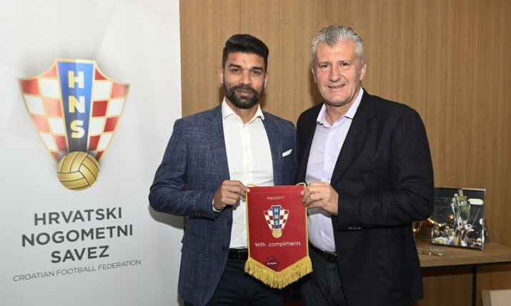 A chat with Eduardo as he is named Croatian Football Federation ambassador