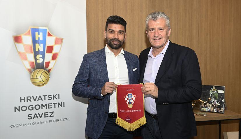 A chat with Eduardo as he is named Croatian Football Federation ambassador