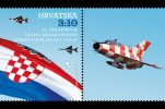 Commemorative stamps issued to mark 25th anniversary of operations Bljesak & Oluja