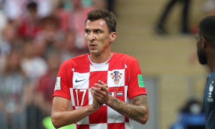 AC Milan set to sign former Croatian international Mario Mandžukić