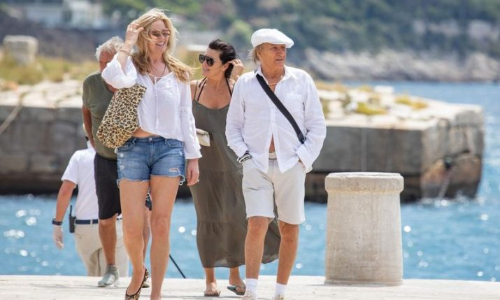 PHOTO: Rod Stewart holidaying on the Croatian coast