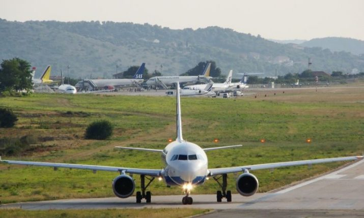 Split Airport records 70 departures and arrivals on Sunday