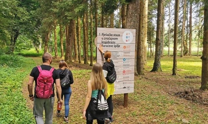 PHOTOS: Three new hiking trails at Barać Caves officially opened