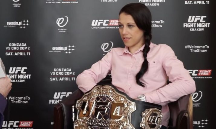 Former UFC champ Joanna Jedrzejczyk coming to Croatia's Fighting Island