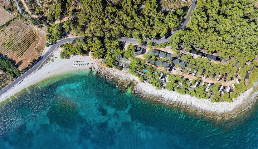 New boutique camp opens in Supetar on the island of Brač
