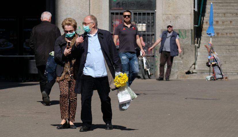 masks mandatory in Zagreb