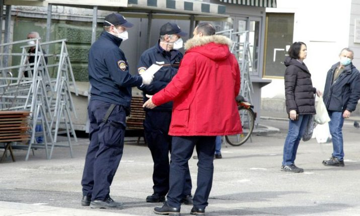 Croatia's chief epidemiologist says fine for not wearing mask should be €100-200