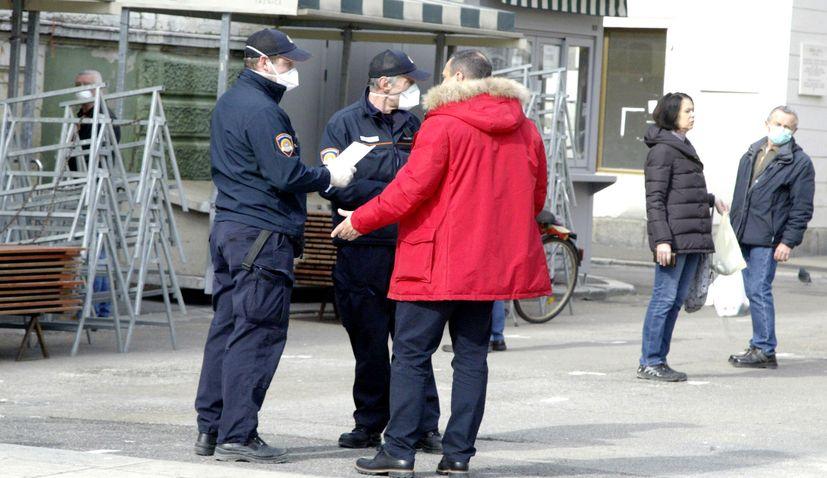 mask fine in croatia