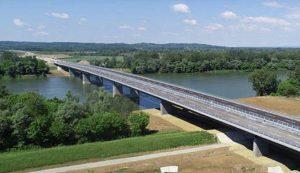 Svilaj bridge across the Sava River at the border between Croatia and Bosnia and Herzegovina has opened
