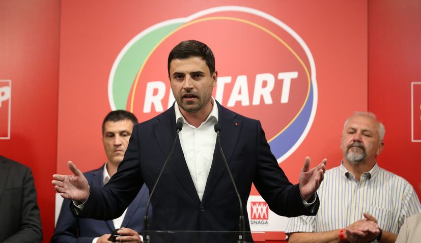 SDP leader Davor Bernardic steps down after election loss