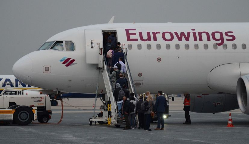Eurowings croatia flights Germany