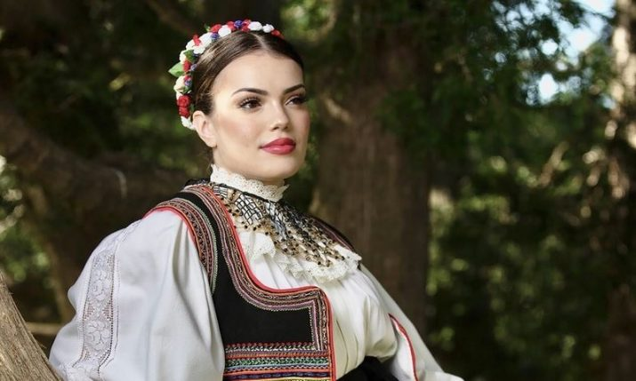 Ivana Glavić from Canada crowned most beautiful Croatian in national costume outside Croatia