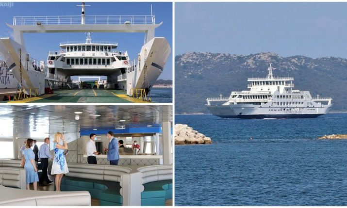 PHOTOS: Jadrolinija puts new €3 million ferry between Zadar and Ugljan island in operation