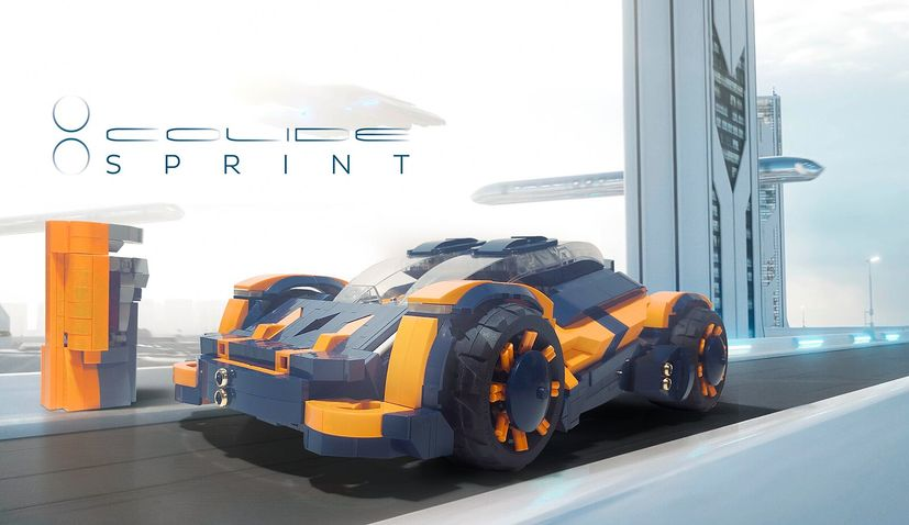 Help Croat's futuristic car creation become official LEGO set