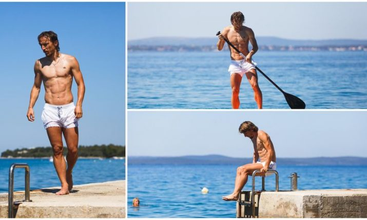 PHOTOS: Ripped Luka Modrić enjoying holiday in his hometown of Zadar