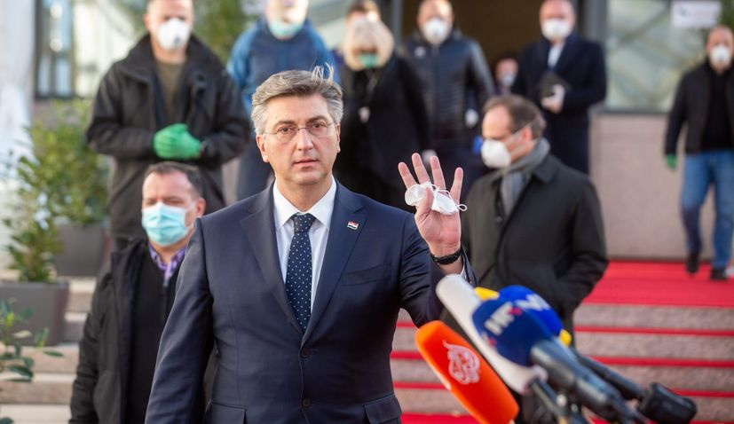 Croatian PM expects Frugal Four to accept compromise on coronavirus recovery package