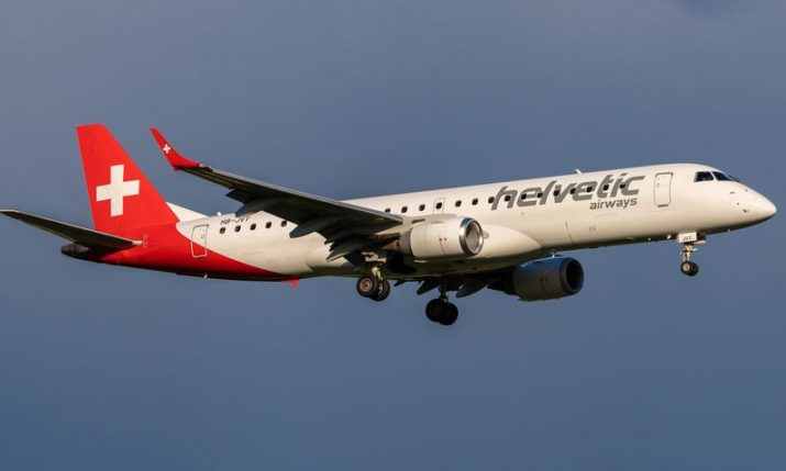 Helvetic Airways announce limited-time Zurich-Brač pop-up flights, new Split-Bratislava service to start