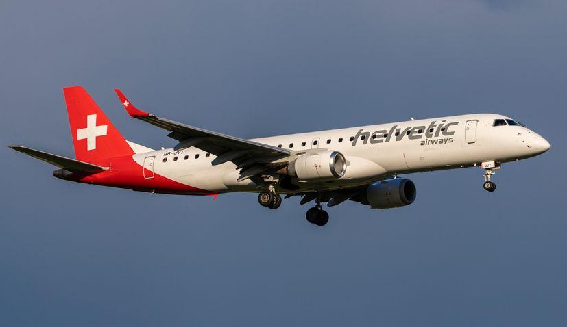 Helvetic Airways announce limited-time Zurich-Brač pop-up flights, new Split-Bratislava service to start