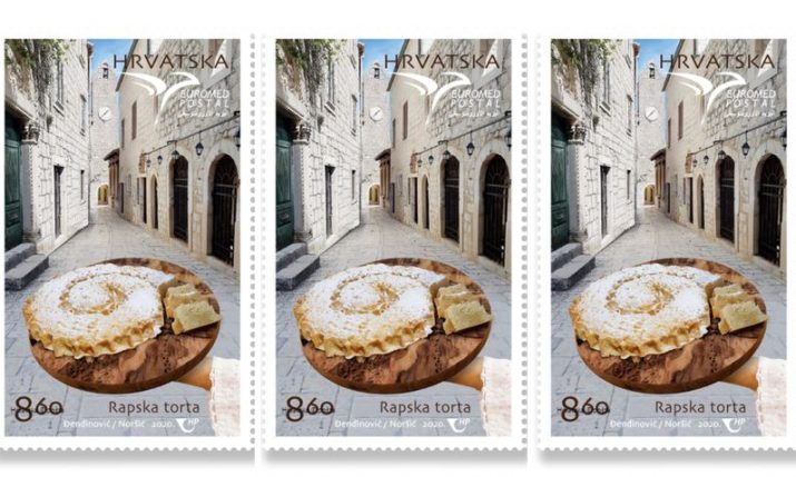 Rapska torta: Traditional cake from island of Rab honoured with its own postage stamp