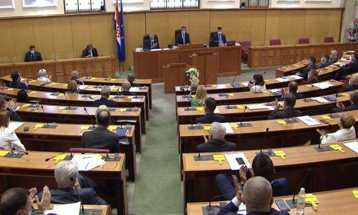 Croatian lawmakers to debate agreement on air marshals