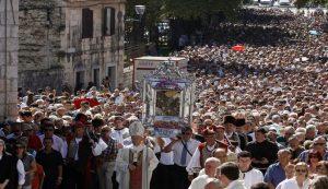 velika gospa - no procession this year